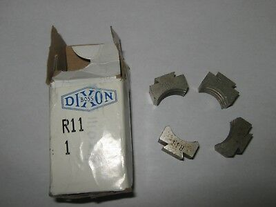 Dixon R11 Ribbed Die Set For Use With BFMW1225 Brass Ferrule, New