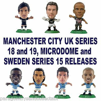 MANCHESTER CITY MicroStars - UK Series 18 and 19, MicroDome and Sweden Series 15