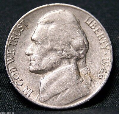 1946 S Jefferson Nickel, Over 700 Sold,  Free Ship!