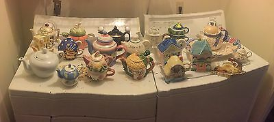 Antique Teapot Collection