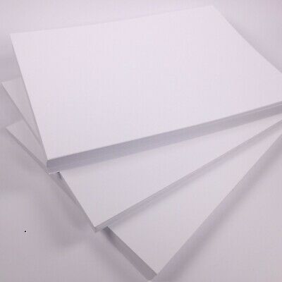 White Card Thick 300gsm 380 micron A5 A4 A3 SRA2 Card Making Smooth Craft