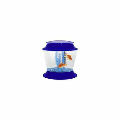 Fish 'R' Fun Aquarium Fish Tank Plastic Fish Bowl & Lid 17L