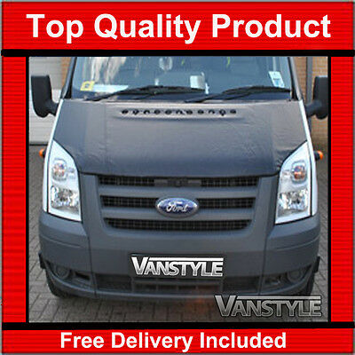 Ford Transit Bonnet Bra 2007-13 Top Quality/fit Protector Cover Stone Guard