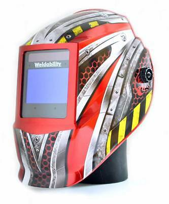 Welding Mask Phanton Extreme Auto Light Reactive - Large viewing area