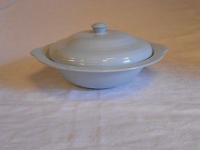 Booths Staffordshire Pottery Blue Mist Lidded Tureen Vintage                  le