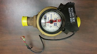 """Master Meter - Water Meter 5/8""""X 3/4"""" with pulse output. LOW USAGE - USED"""