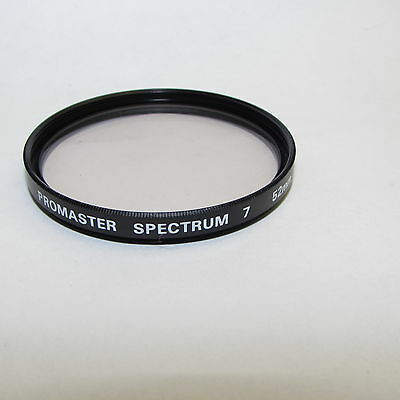 Used Promaster Spectrum 1A 7 52mm Lens Filter Made in Japan S311257