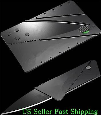 Lot of 5 Survival Credit Card Cardsharp Style Slim  Folding Knives