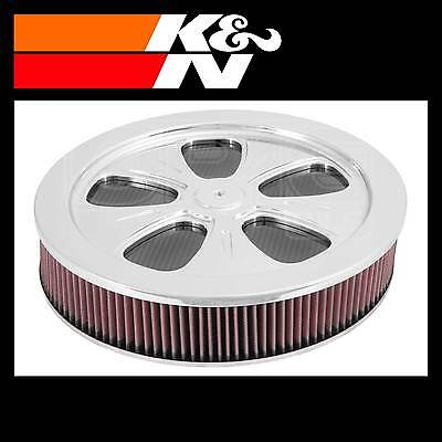 K&N 66-5100 Air Filter Assembly - Custom Assembly - K and N High Flow Assembly