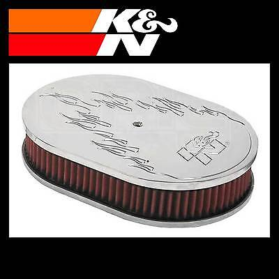 K&N 66-1530 Air Filter Assembly - Custom Assembly - K and N High Flow Assembly