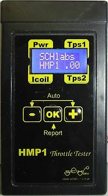 HMP1-Tester, Throtle body, Pedal, TPS, battery, Lambda, Map, Maf (volt or frec)