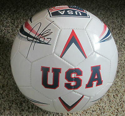 Jozy Altidore Signed USA Soccer Ball with proof