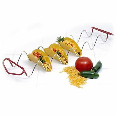 Norpro Taco Rack Holds 6 Shells Quick & Easy Filling 1062