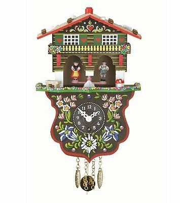 Black Forest Clock Swiss House Weather House TU 808 P