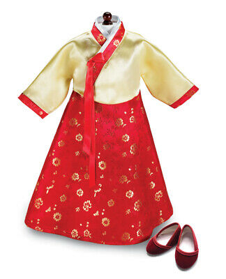 "Doll Clothes AG 18"" Korean Hanbok Dress by Carpatina Made For American Girl Doll"