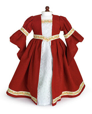 """Doll Clothes 18"""" Dress Renaissance by Carpatina Fits American Girl Dolls"""