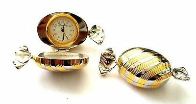 Ladies Night Wedding Collector Gift 2 Tone Sweet Clock