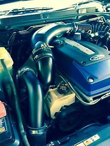 FG Ford XR6 Turbo Intake Air Muffler Delete + BOV Kit + Breather + TB Pipe