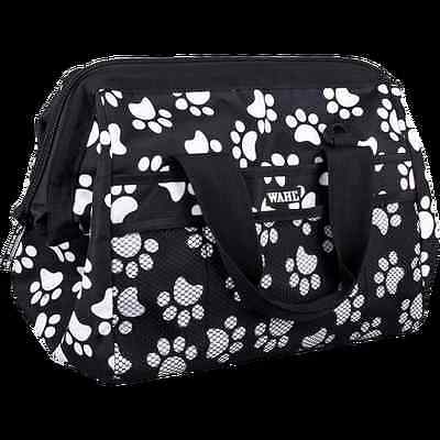 Wahl Frogmouth Pet Grooming Bag Holdall Paw Design