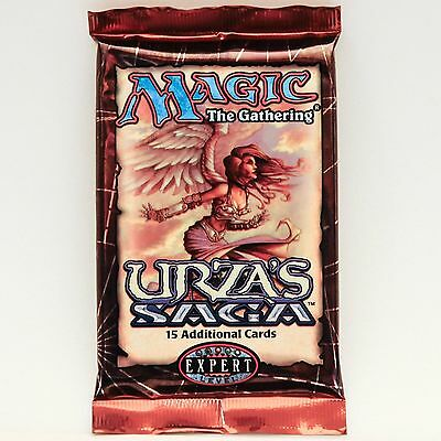 Mtg Magic The Gathering Urza's Saga Sealed Booster Pack Fresh From A Sealed Box