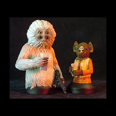 GENTLE GIANT Star Wars Kabe and Muftak Mini Bust Two-Pack NEW FREE SHIP