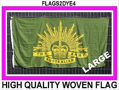 Australian ARMY flag Australia Rising Sun flag green gold heavy duty ANZAC flag