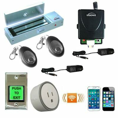 FPC-5208-VS Smartphone Access Control Kit One Door 1200lbs Electromagnetic lock