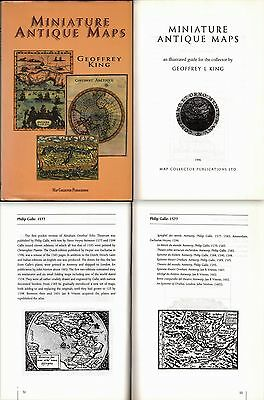 Miniature Antique Maps-An Illustrated Guide For The Collector G. King-1996-L1911