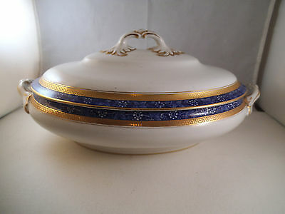 Vintage Losolware Vine Keeling & Co Oval Covered Vegetable Casserole Bowl Dish