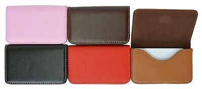New Pocket PU Leather Business ID Credit Card Holder Case Wallet by Marshal