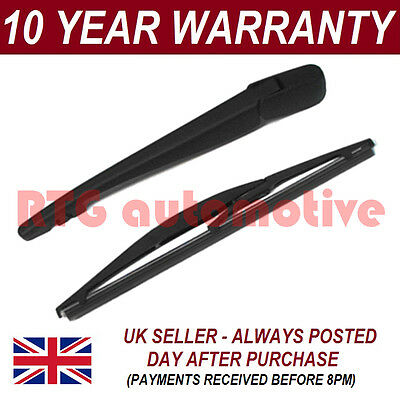 "For Suzuki Swift Mk 1 Hatchback (2004-2010) 250Mm 10"" Rear Wiper Arm + Blade Kit"