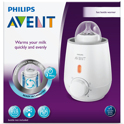 AVENT ELECTRIC BOTTLE WARMER - phillips baby food bottle warmer bottles philips