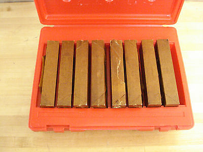 """Precision Parallel Set, 8 Matched Pairs, 1/2"""" Thick, 6"""" L, 7/8 to 1-3/4"""" 