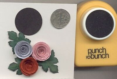 Medium Circle 24mm or 1 inch Paper Punch by PB Quilling-Scrapbook-Cardmaking