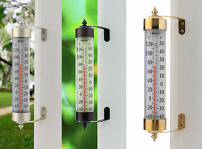 Grande View Thermometer Large Easy to Read Window Wall Mount Lifetime Guarantee