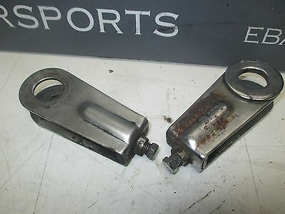1979 Yamaha XS650 Special chain adjusters