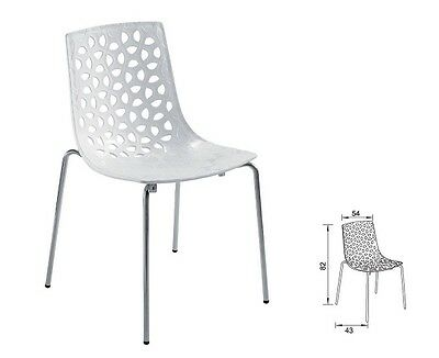 Cafe Dining Stackable Chair