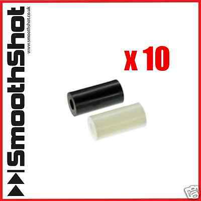 Black White Nylon Plastic Spacers Standoff Washer M4 M5 Pack Of 10