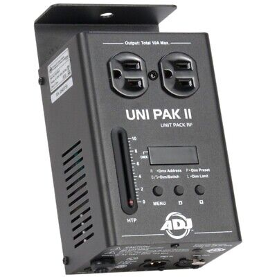 American DJ UNI PAK II Single Channel DMX Dimmer Pack Stage Theater Church club