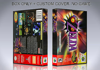 LEGEND OF ZELDA MAJORA'S MASK. English. Box/Case. N 64. BOX + COVER. (NO GAME).