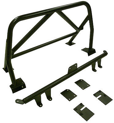 OBX Roll Bar For 99-09 Honda S2000 with Double Diagonal Bar + Belt Mounting Bar