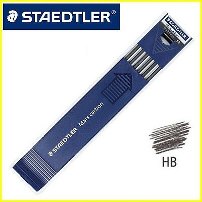 Staedtler Mars Pencil Carbon Leads 2.0mm = 200-HB = Pack/Box of 12 Refill clutch