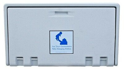 Allied Hand Dryer (Private Label) Baby Changing Station White Granite AHD100-05
