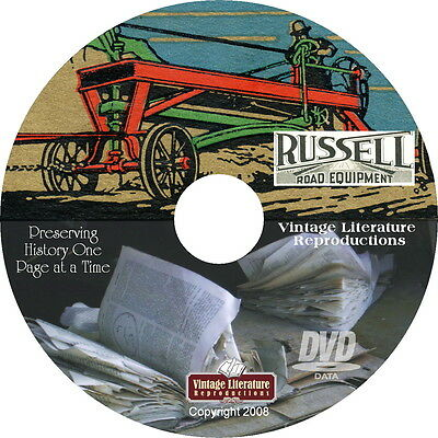 1921 Russell Road Building Catalog { Contractors Construction Equipment } on DVD