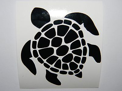 Sea Tortoise Turtle Vinyl Decal Sticker Choose your Color and Size