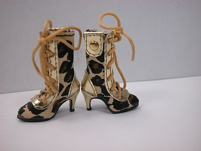"""Barbie Fashion Royalty Miniature Shoes Boots For 12""""  Blythe Dolls #JSS24"""