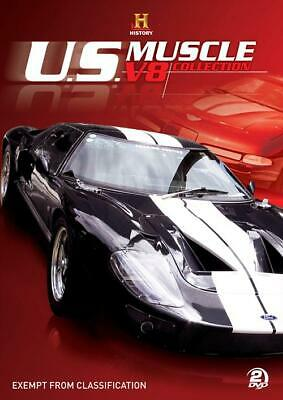 US Muscle - V8 Collection (DVD, 2009, 2-Disc Set) New Sealed  Region 4
