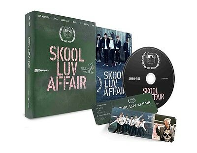 BTS 2nd Mini Album Skool Luv Affair Bangtan Boys Brand NEW Factory Sealed
