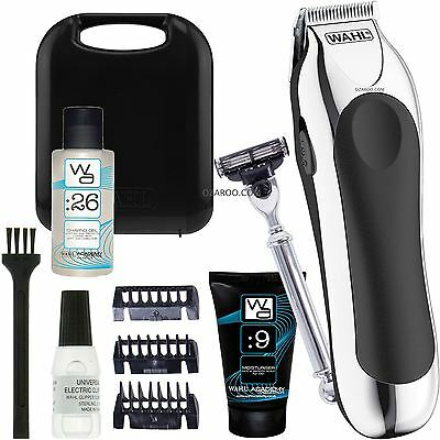 Wahl Mens Shave & Trim Set Battery Powered with Hard Case - ZX847-800Y