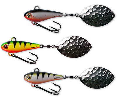 SpinMad JAG 18g - 3,5cm * grosse Farbauswahl * JigSpinner, TailSpinner